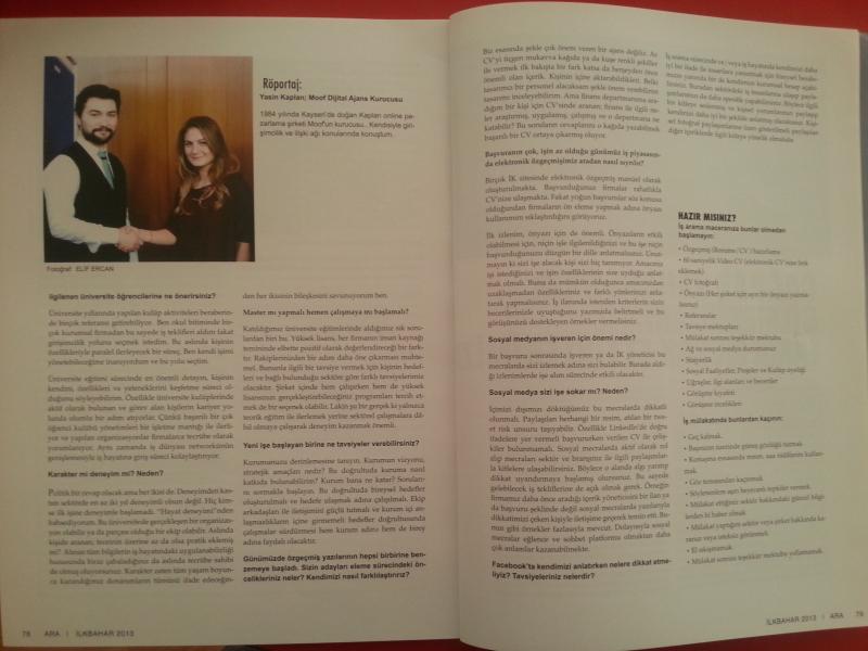 Koç Üniversitesi – Dergisi
