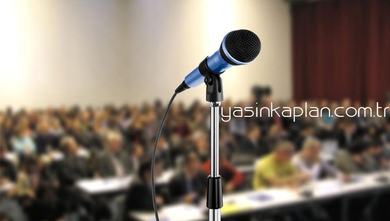 Aralık Ayı Konferans Programı