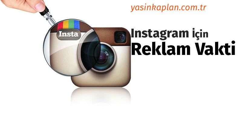 Instagram Reklam Savaşları Başlıyor!
