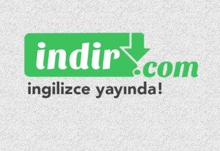 indir.com İngilizce olarak Dünya'ya Açıldı